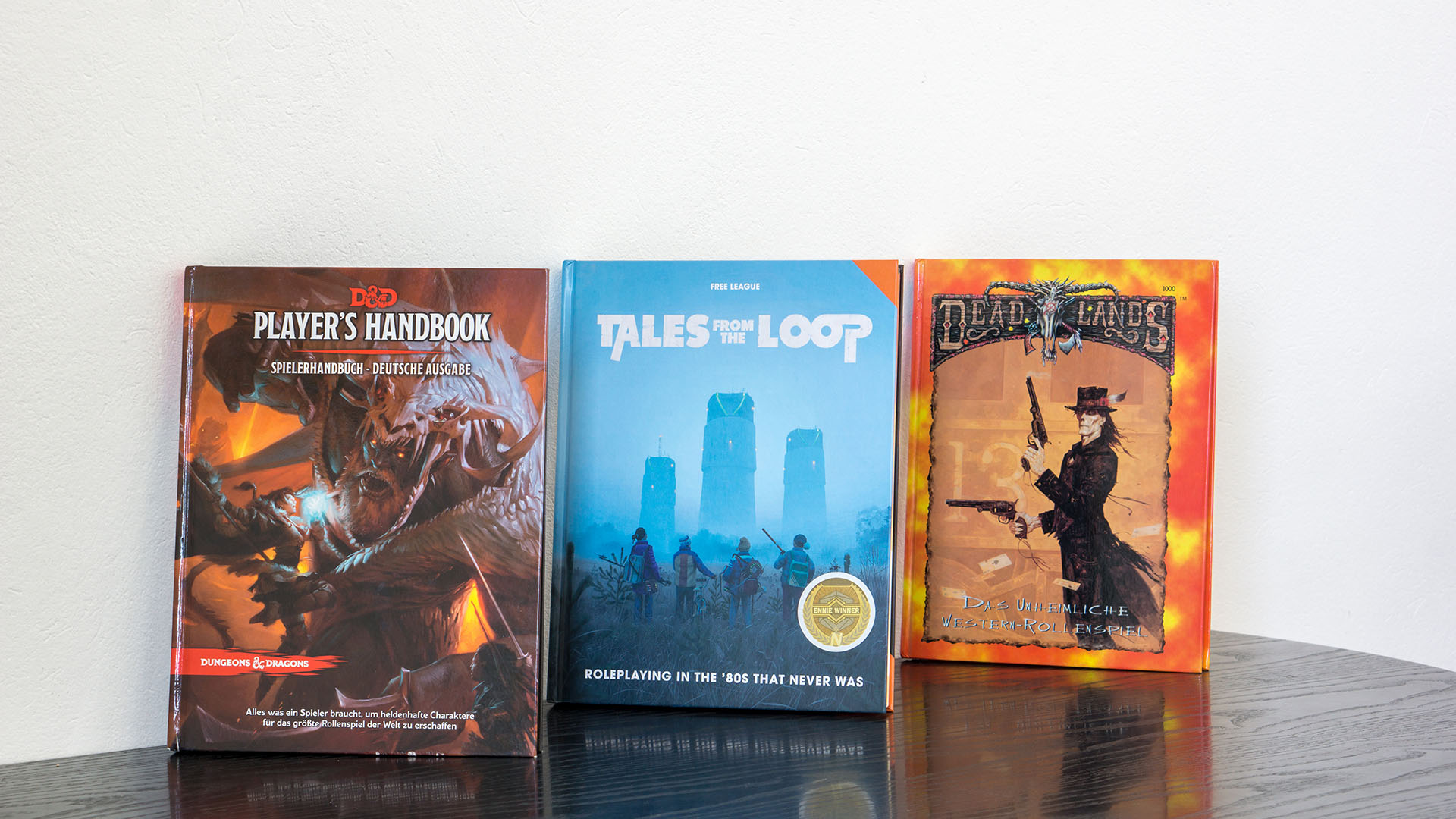 Core Rulebooks - Dungeons and Dragons, Tales from the Loop, Dead Lands
